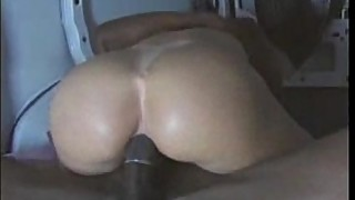 Horny wife needs a big black cock in the ass
