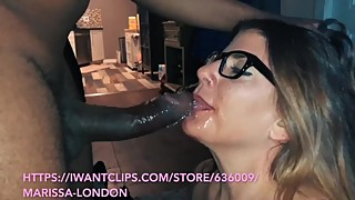 Hot wife gets big black cock surprise