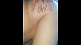 My wife sucking me and her boyfriend up the ass