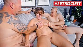 Letsdoeit - german mature wife shared by husband with the strangers