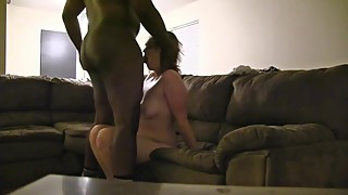 Wife cheating even worse deep ball big black penises.