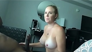 Blonde milf loves black cock, she can be found on the world wide web. maturedating. the club