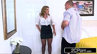 April fool039_s joke goes wrong - cory chase cuckold their husband