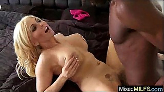 The monster black cock filling a wet milf holes clip-12