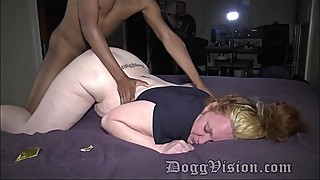 Anal redhead neighbor 2 people.