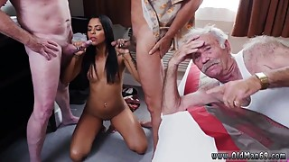 Wife old guy and horny old and large and small cytheria