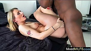 Interracial sex video big black penis in wet milf holes, mov-01