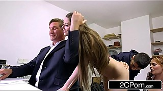 Sneaky boss039_s terra white fucking skinny wife and his daughter lily morgan