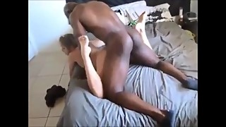 Cheating wife loves big black cock