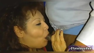 Mature latin padauza wife is a big fellow and fucks a black