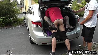 In the catcher adventure with a horny slutwife nicole