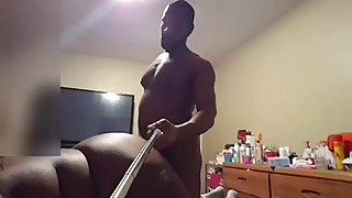 A woman's best friend is back for another 3some pt 1 (selfie stick)