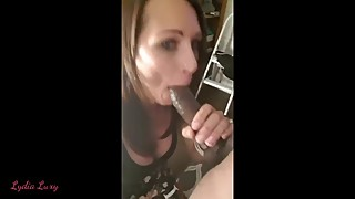 Skinny amateur hotwife big black cock bj selfie cuckold will not be called