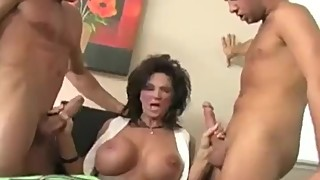 Mature housewife divorced - dp anal squirting