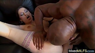Black cock filling and perfect wet pussy-of-sexy-mother-daisy-cruz-video-08