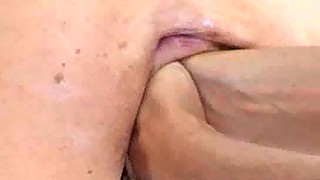 Double fist fucked extremely amateur whore