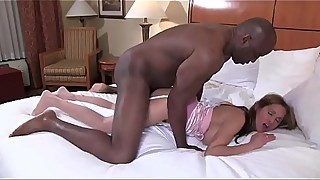 Hot wife big black cock anal