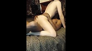 Wife, sucking on a big black cock, from the spicygirlcam.com