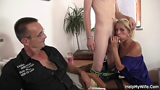 Hot mature wife husband cuckold