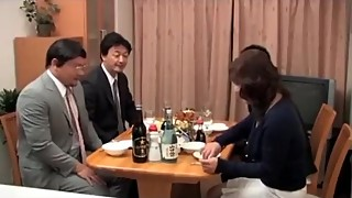 Japanese wife and male friends