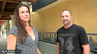 Sophie marie cuckolds her man and gets a huge facial