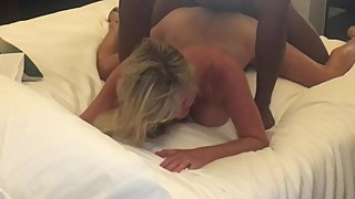Hotwife girls get bent over, a few big black cocks