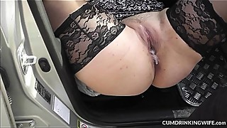 Slutwife source strangers car