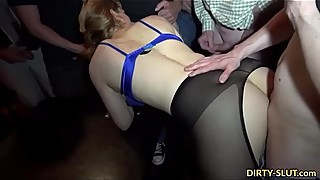 New parts gangbang, hot wife nicole