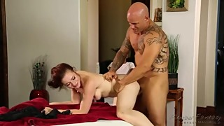 Surprise his wife, massage