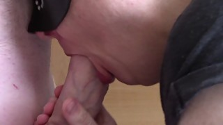 Cuckold hotwife blowjob collection, inc., in a double bj and cumshots