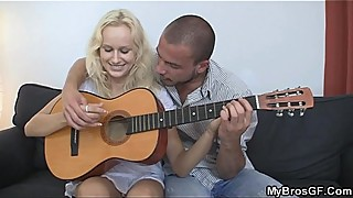 He doggystyled beautiful czech blonde as her boyfriend left