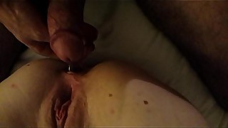 Cheating wife with anal and dp