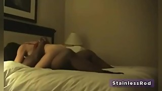 Hotwife cheating the man with the black bulls in the hotel