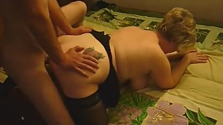 Man let the evil man fucked her plump sexwife