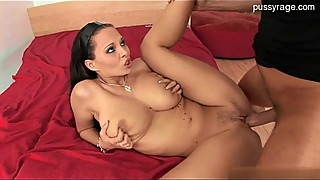 Sexy wife double-blowjob
