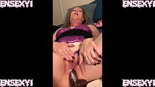 Ensexy1: wife cum on a huge black dick, interracial dick while cuckold films