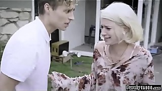 Manipulative step-mother, to fuck, in both the turbulent and the step-son and his wife