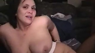 Swinger wife in a black cocks gangbang
