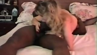 Classic hot wife with a big black penis