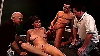 Strangers fucking wife swingers threesome dp anal