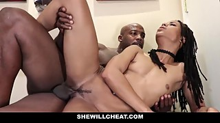 Shewillcheat-cheating-wife what a big black penis in the bathroom
