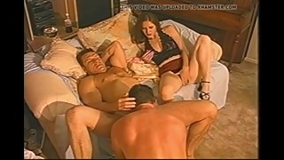 Wife watches husband having sex with his girlfriend a bitch