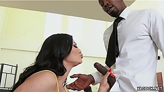 Punk and needy jasmine jae seduces you with the technical support of big black cock when hubby is around
