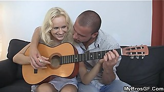 Czech blonde is lured into sex bf039_s my brother.