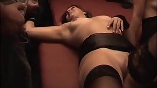 Cumdrinkingwife - gangbanged and drenched by 32 men - will continue to monitor the cuckoldplayground.com