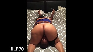 Thick latin wife face riding