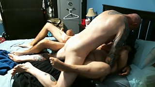 The man, masturbation wife fucking