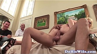 Busty wife anal fucked in different positions