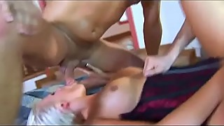 Anal blonde loves a challenge am