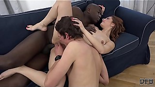 Omg my wife fucking a stranger we met in the street, that the invid him fuck her pussy and shove your black cock in her ass, as i look at it, she wants it hardcore and loves getting fucked in her, that i want it too